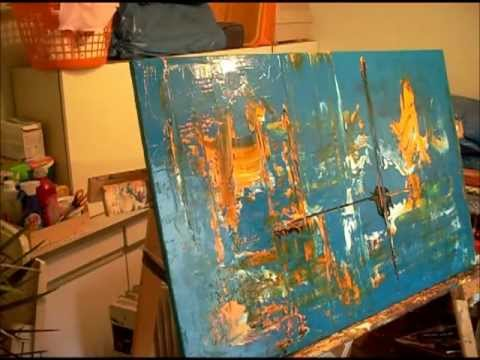 How To Paint Abstract Acrylic