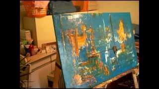 Repeat youtube video Acryl spontan abstrakt Kunst