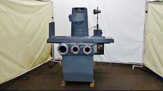 "BROWN & SHARPE 6"" x 18"" MICROMASTER Surface Grinder Model 618"