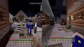 Polícia e ladrão com meu filho de 6 anos no Minecraft - PS4 #2
