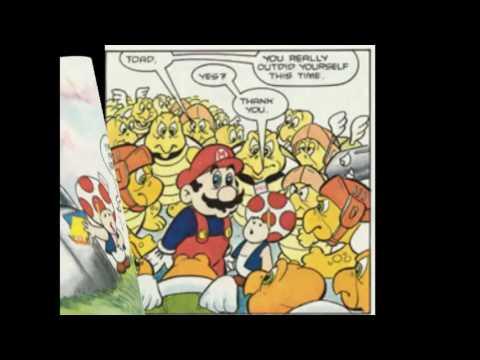 Super Mario Bros Comic Dubs (Jamesman/EarthGwee)