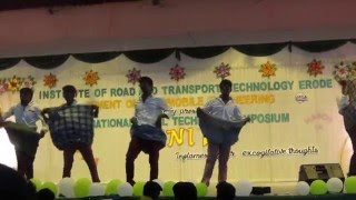 indian college dance irtt colg
