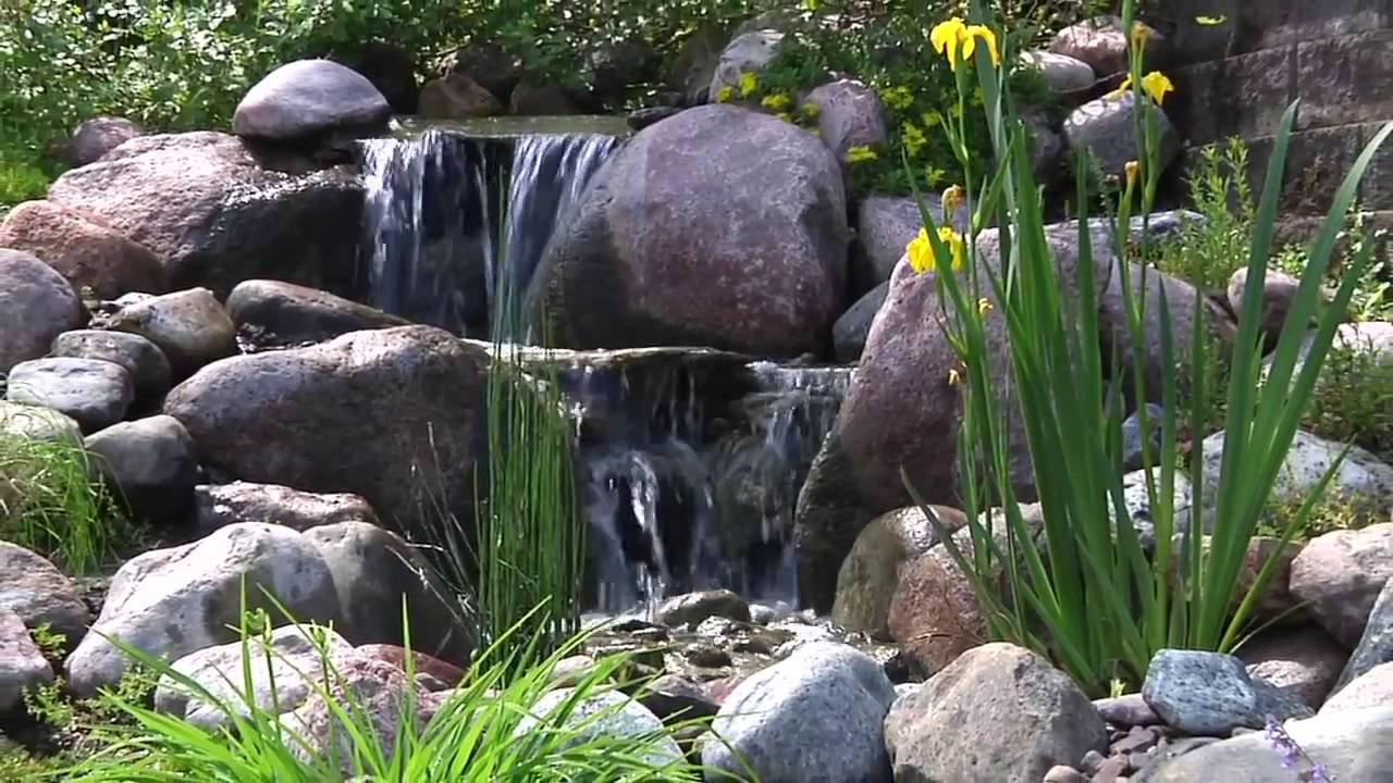 Create A Paradise Aquascape Pondless® Waterfall - YouTube