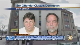 10News learns of cluster of sex offenders in downtown SD: Mark Pliska, Matthew Hedge among residents