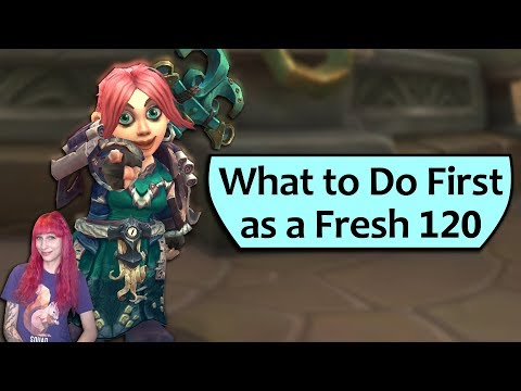 What to Do as a Fresh 120 - BfA Starter Guide