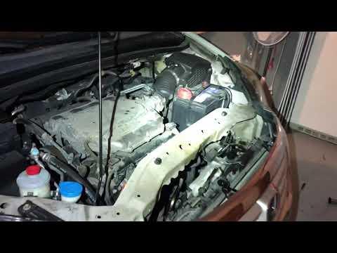 2005-2010 Honda Odyssey block/frost plug location