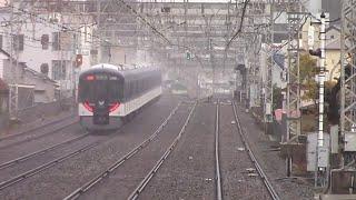 【京阪電車】特急出町柳行き 森小路駅高速通過