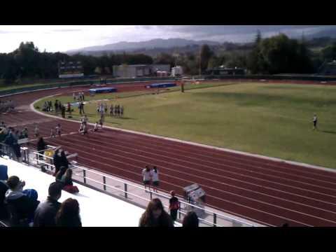 Jonnys 100 meters run!!