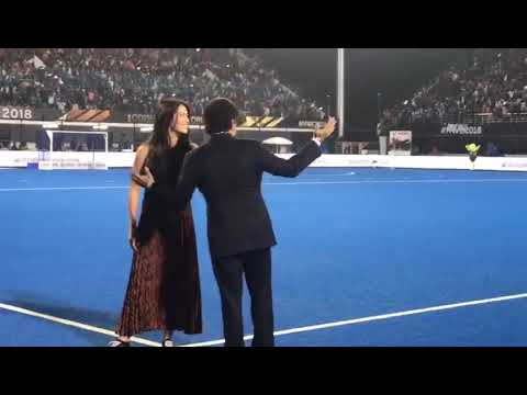 Hockey World Cup Final 2018 : Sachin Tendulkar attend finals in Bhubaneswar