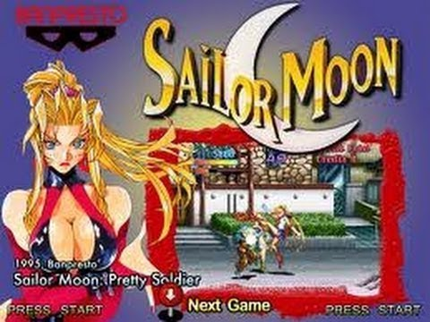 Pretty Soldier Salior Moon (1995) - (Full Game) Arcade ...