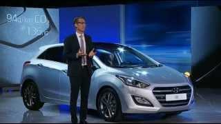 Hyundai i30 facelift turbo lunching show 2015