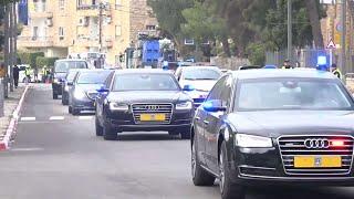 לקראת מצור: החסימות בירושלים עם הגעת מנהיגי העולם
