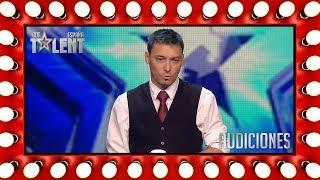 El jurado descubre los trucos de este mago | Audiciones 6 | Got Talent España 2018