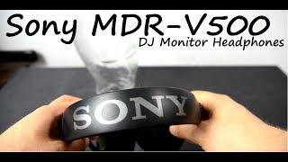 Sony MDR-V500 Dj headphones SPL dB sound test + quick review