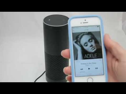 Amazon Echo Pairing With Bluetooth and Music Playing