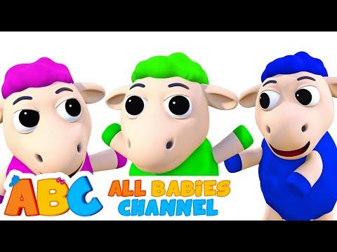 Baa Baa Black Sheep | Best 3D Nursery Rhymes Songs For Kids by All Babies Channel