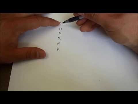 How To Write An Acrostic Poem-Poetry Lesson