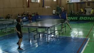 настольный теннис Одесса Evolution Kids 28.07.2018 игра 2