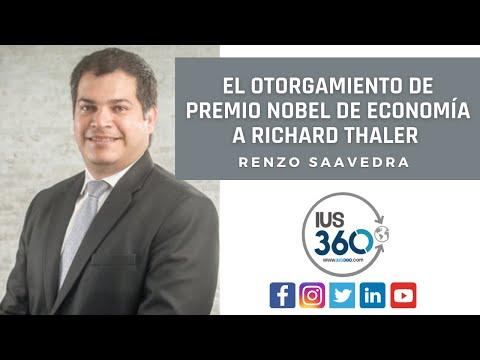 Renzo Saavedra sobre el otorgamiento de Premio Nobel de Economía a Richard Thaler