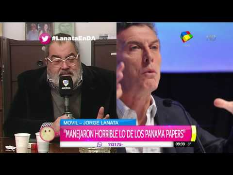 Jorge Lanata confesó que votó a Macri