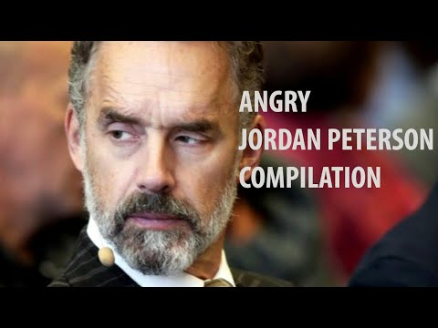 When Jordan Peterson Gets Angry |  Compilation
