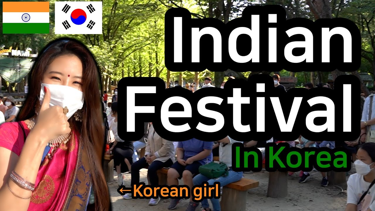 [Sub Eng] [Ep1] Indian Festival held in Korea😆 | Interviews with Indians living in Korea