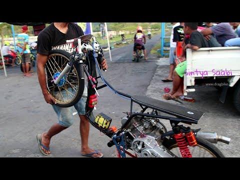 intip yuk! cara joki papan atas setting motor drag bike di sirkuit resmi 201m