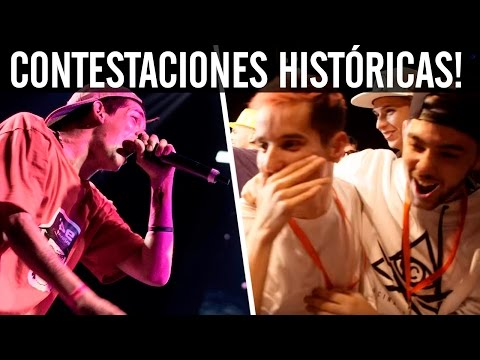Las Mejores CONTESTACIONES de la HISTORIA de las Batallas De Gallos Rap (Red Bull, BDM, Callejeras)