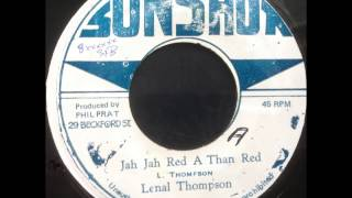 Linval Thompson - Jah Jah Red a Than Red / Dread a Than Dread Dub