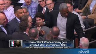 More Knicks Drama: Charles Oakley ejected and...