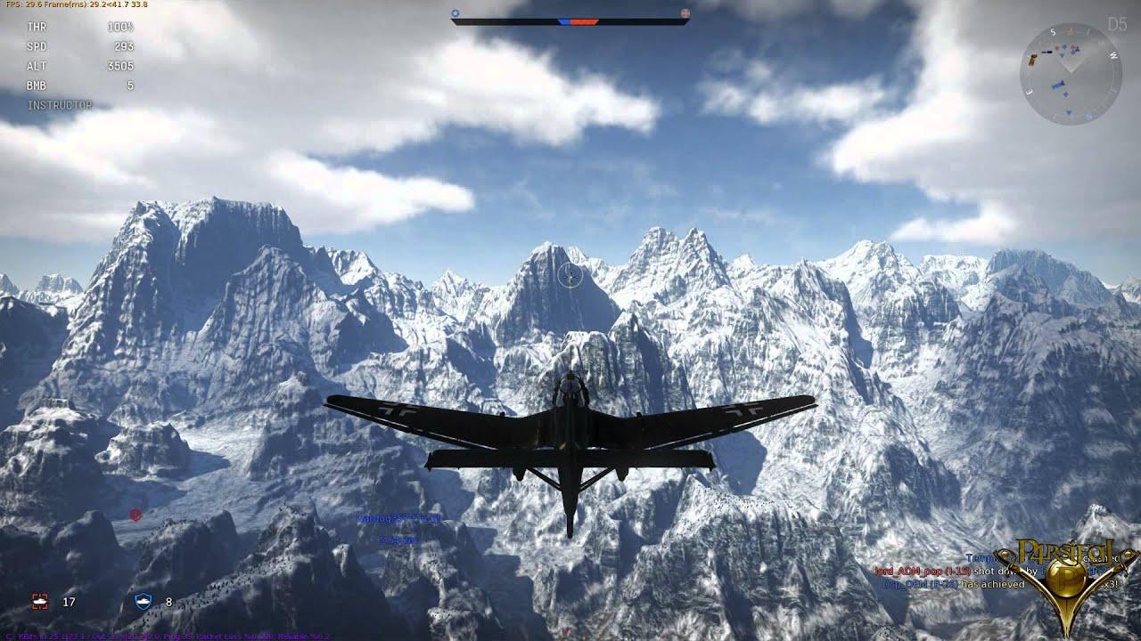 War thunder gameplay trailer