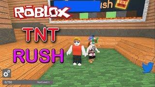il TNT bomba-schivare Rush Roblox divertente.