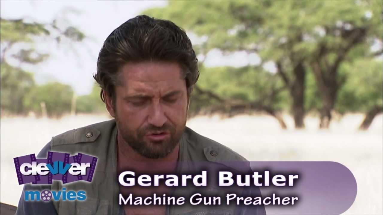 Gerard Butler Machine Gun Preacher Interview Youtube