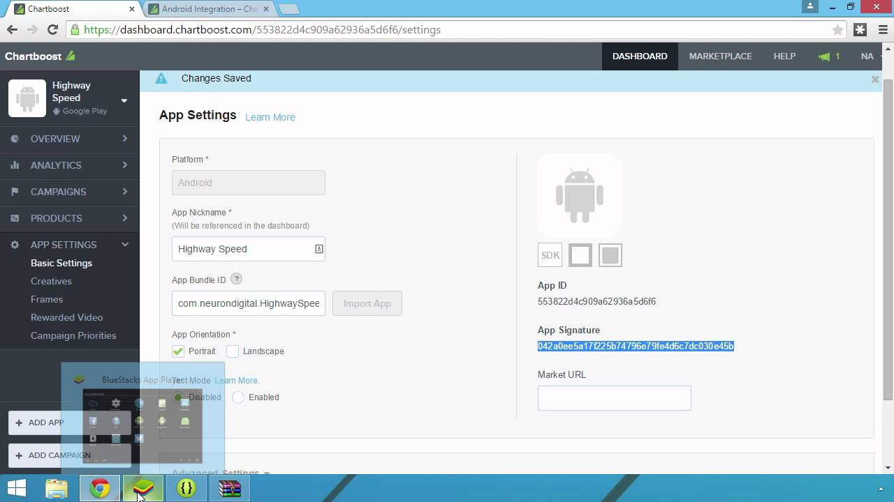 Adding Chartboost to your Android game - YouTube