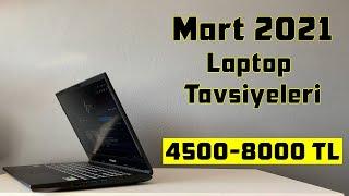 Laptop Tavsiyeleri - Mart 2021