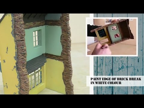 HOW TO CONSTRUCT AND PAINT BUILDINGS & DIORAMAS TUTORIAL
