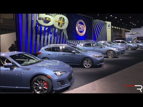 2018 Subaru 50th Anniversary Edition – Redline: First Look – 2018 Chicago Auto Show
