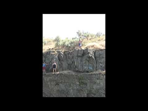 Cliff Jumping in Pendleton OR
