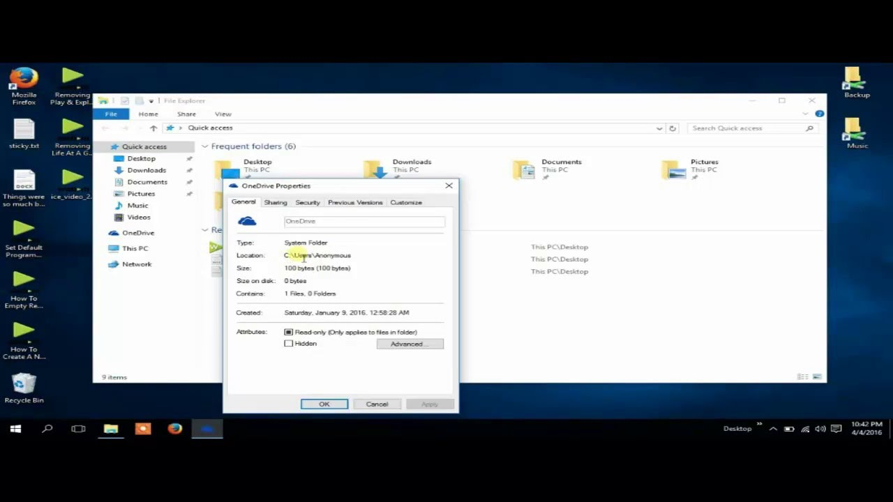 How To Remove OneDrive Completely Windows 10 - YouTube