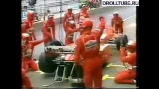 Смешные моменты на гонках формулы-1
