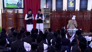 Huzoor Ke Saath Tulaba Ki Nashist - 15th December 2013  (Urdu)