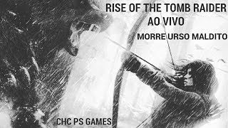 RISE OF THE  TOMB RAIDER PARTE 1 AO VIVO