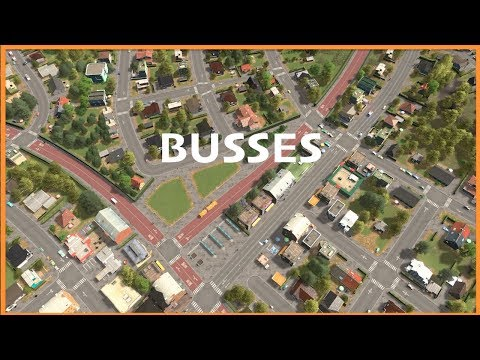 EVERYTHING YOU NEED TO KNOW ABOUT BUSES | Cities Skylines