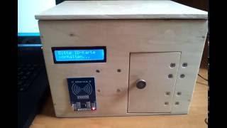 RFID access control with Arduino Mega 2560