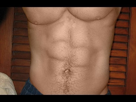 Photoshop Tutorial: Best way to get  SIX PACK ABS!!!