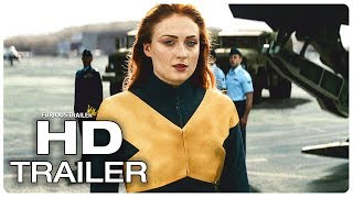 X-MEN DARK PHOENIX Trailer #2 International (NEW 2019) Superhero Movie HD