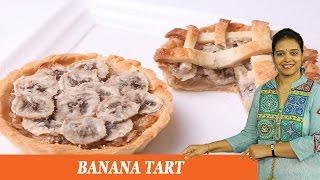 Banana Tart - Mrs Vahchef