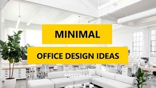 65+ Awesome Minimal Office Design Ideas in 2018