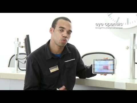 HTC Flyer Demo from the Carphone Warehouse