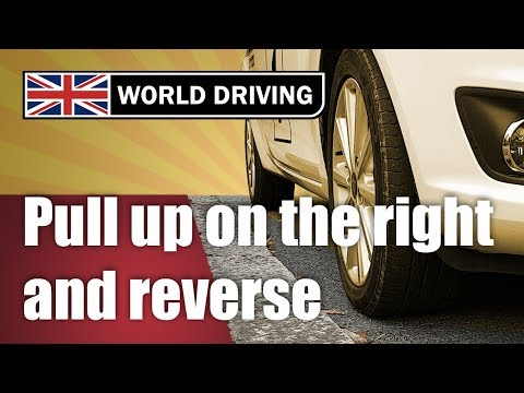 How to pull up on the right reverse 2 car lengths New driving test manoeuvre